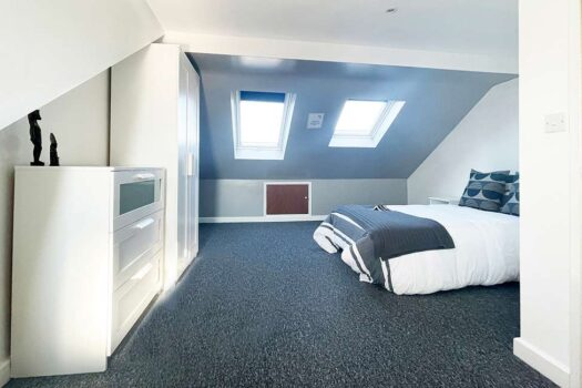 6 bed student house - Britannia Road North (2), Portsmouth - Bedroom 1